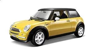 لعبة سيارة ميني كوبر من بوراجو 18-25078 - أصفر