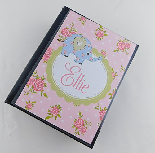 Girl Baby Photo Album 634 Pink Brown 100 4x6 Pictures Baby Gift