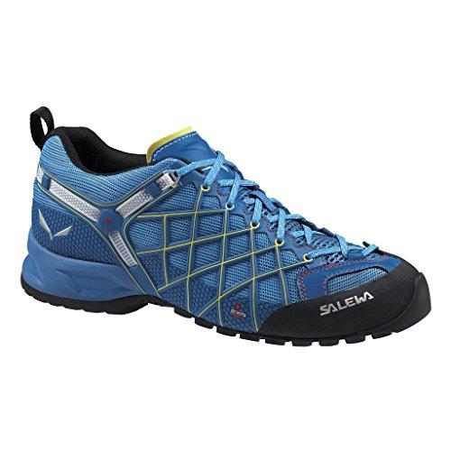 Salewa MS WILDFIRE S GTX - zapatillas de trekking y senderismo de material sintético hombre Azul / Negro   (Reef / Mimosa 0488)