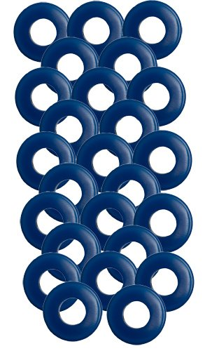 25 Pack of Blue Polyurethane Gladhand (Gladhand Seals)