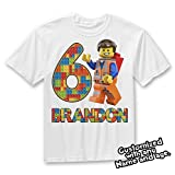Lego Birthday Shirt, Lego Theme party shirt, Lego Party gift
