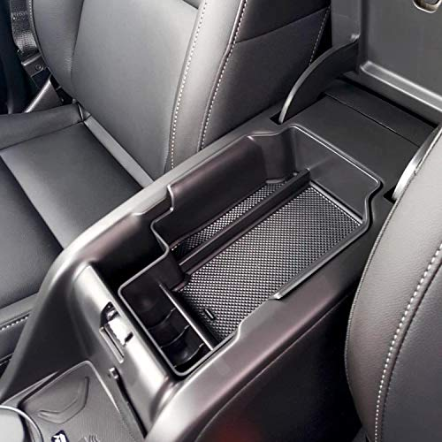 JDMCAR for Chevy Colorado/GMC Canyon Center Console Tray (2015-2019), Armrest Box Secondary Storage