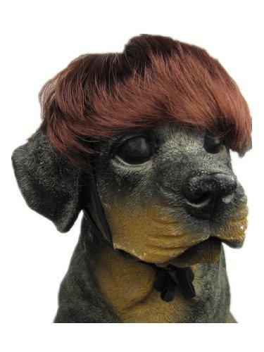 640522187546 UPC - Tanya Amazing Pet Wig Dog Wig Dark Wine ...