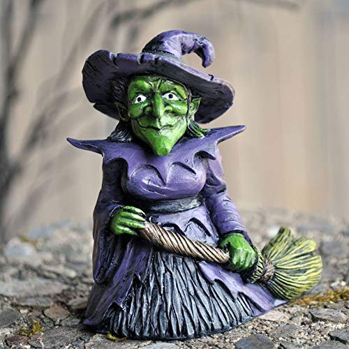 - Miniature Hazel The Good Witch Fairy Garden Faerie Hobbit Gnome GO 16679