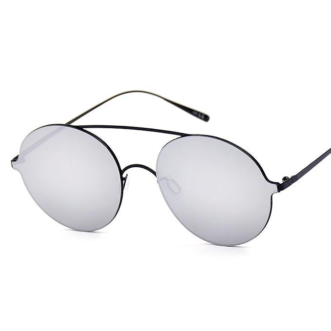 WKAIJC Trends Mode Pop Klassik Persönlichkeit Retro Männer Und Frauen Kreativität Fein Sonnenbrille,A