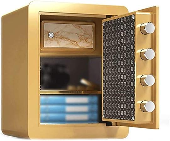 Contraseña caja fuerte del gabinete mecánico Caja de seguridad, Inicio empotrar en la pared Armario de seguridad antirrobo invisible seguridad incrustado en la caja de almacenamiento de dinero: Amazon.es: Hogar