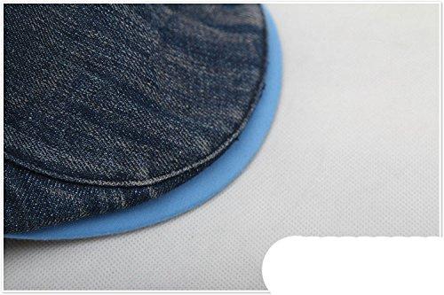 Casquette Soleil Extérieur Jean Chapeau Unisexe Adulte Acvip Béret Newsboy Bleu Plate Visière qEw4Cvz