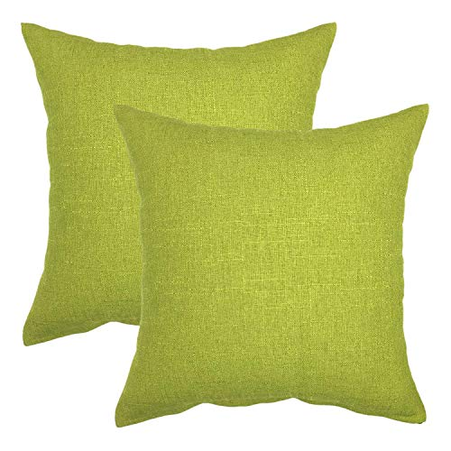 MOCOFO Mudcloth Velvet Pillow Cover, Pack of 2,18x18 Large Decorative Olive Green Accent Couch Throw Pillow Covers Super Soft Faux Fur Striped Plush Shams Sofa Cushion Cover Cases Couch Office