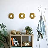 Gold Mirrors for Wall Pack of 3 - BONNYCO | Wall