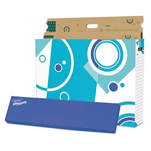 TREND T1022 File 'n Save System Chart Storage Box, 30-3/4 x 23 x 6-1/2, Bright Stars Design