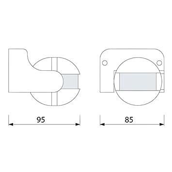 Detector de Movimiento IP44 Infrarrojos 180 ° - con Sensor de Oscuridad - orientable - Apta para LED.: Amazon.es: Bricolaje y herramientas