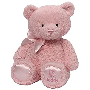 "Gund Baby Gund My 1st Teddy Plush Toy, 15"" - 51cUN7HH4rL - Gund Baby Gund My 1st Teddy Plush Toy, 15″"
