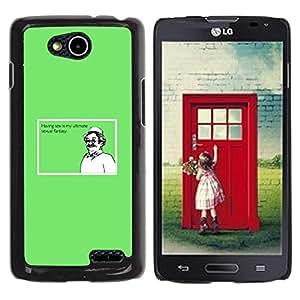Be Good Phone Accessory // Dura Cáscara cubierta Protectora Caso Carcasa Funda de Protección para LG OPTIMUS L90 / D415 // Sex Ultimate Fantasy Funny Quote Man Dream