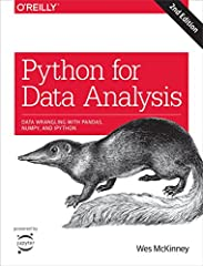 Get complete instructions for manipulating, processing, cleaning, and crunching datasets in Python. Updated for Python 3.6, the second edition of this hands-on guide is packed with practical case studies that show you how to s...