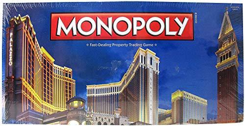 (New Very Rare Limited Monopoly Las Vegas Venetian Palazzo Boardgame Casino Games)