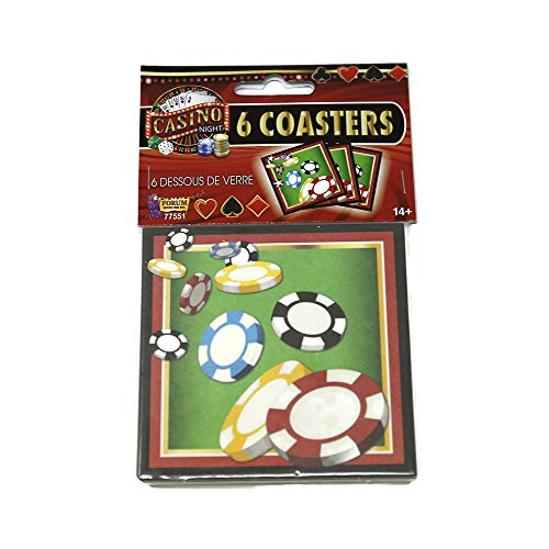 (Forum Novelties Casino Night Drink Coasters)