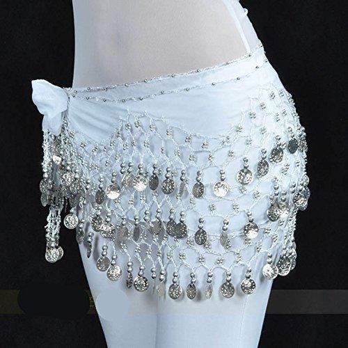 Vogue Belly d'or 128 Écharpe 16 Cadeau nbsp;pièces Style Idée Style Hip Dance REH4wYgqw