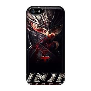 GHRtGgR2346yvasr Anti-scratch Case Cover Jesussmars Protective Ninja Gaiden 3 Case For Iphone 5/5s