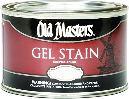 Old Masters 80408 Gel Stain Pint, Red Mahogany