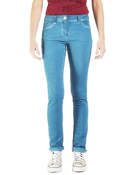 Carrera Jeans - Jogger vaqueros 752 para mujer, estilo recto, color liso, interior