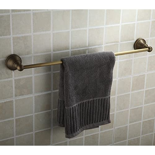 well-wreapped Copper antique Towel rack/European single bar Towel rack/Bathroom racks/toilet/Bathroom accessories/Towel hanger-D