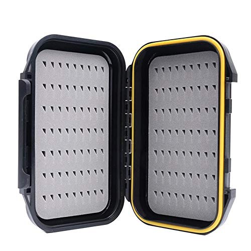 Heitaisi Fishing Tackle Box Waterproof Shock-Resistant Large Capacity Fly Fishing Organizer