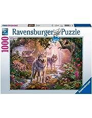 Ravensburger 151851 Puzzel Wolvenfamilie In De Zomer - Legpuzzel - 1000 Stukjes