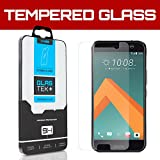 SOJITEK HTC 10 Premium Ballistic Tempered Glass Screen Protector w/ Lifetime Replacement Warranty - Ultra Clear 99.99% Clarity & Touchscreen Accuracy Smart Film (0.33mm, 2.5D Rounded borders)