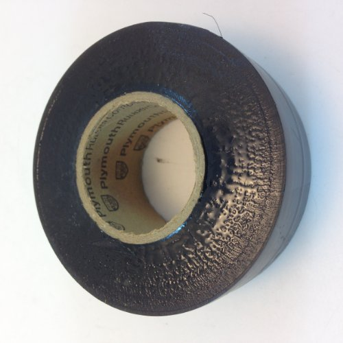 - PLYMOUTH RUBBER CO. US MADE VINYL ELECTRICAL BLACK TAPE 1-1/4