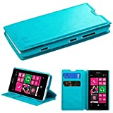 MYBAT MyJacket Wallet with Tray for Nokia Lumia 521 - Retail-Packaging - Blue