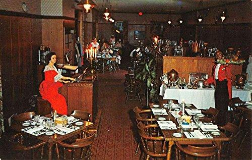 Weldon North Carolina Mackenzies Colonia Manor Restaurant Postcard K89173