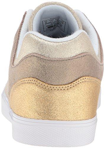 Gold SDE Sleek K Champagne Gold Damen Gstaad Sneaker Swiss 4nYBz