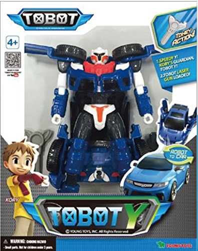 Tobot Youngtoys Y Transforming Robot Car to Robot Animation Character by Tobot (Image #2)