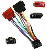 Aerzetix - Adaptateur ISO Z5 câble convertisseur fiche faisceau auto autoradio pour Pioneer - C1977