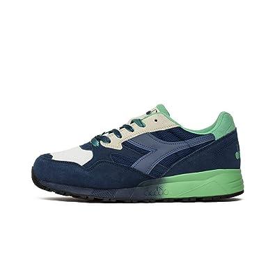 bd3376a6255 Diadora - N9000 Speckled - 17328660024 - Color  White-Green-Navy Blue -