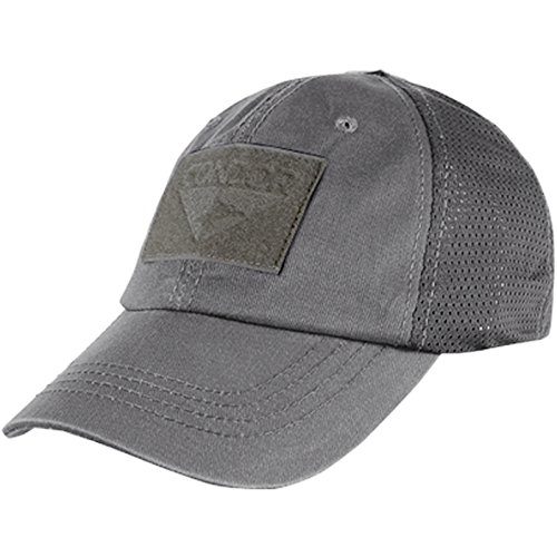 Condor Mesh Tactical Cap, Graphite