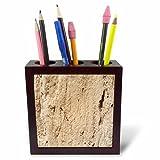 3dRose TDSwhite – Rock Photos - Geology Design - 5 inch Tile Pen Holder (ph_281889_1)
