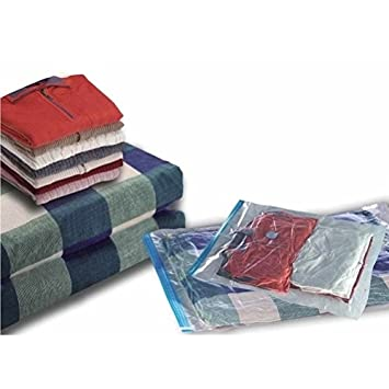 12 Paquetes de almacenamiento para ahorro de espacio bolsas de ropa - 80cm x 60cm - Vacío bolsa de almacenamiento [version:x7.3] by DELIAWINTERFEL