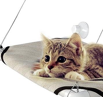 Signstek – Cama Colgante Para Gato Tipo Hamaca Para Ventana, con capacidad hasta para 18,14 kg: Amazon.es: Productos para mascotas