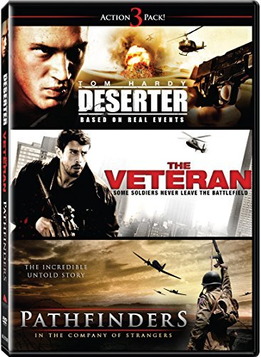 Action Triple Feature Volume 1 (Deserter/Pathfinders/Veteran) by Tom Hardy