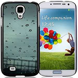 Autumn Rain Hard Plastic Samsung Galaxy S4 I9500 Protective Phone Case