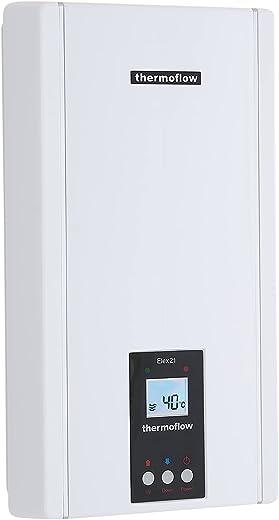 Thermoflow ELEX21N Elex 21 N Elektronischer Durchlauferhitzer, 400 V, Weiß, (H x B x T): 472 x 255 x 115 mm