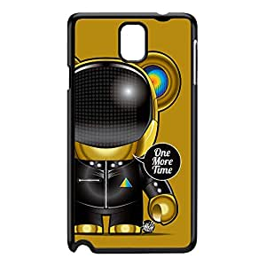 Daft Punk 01 Black Hard Plastic Case for Galaxy Note 3 by Gangtoyz + FREE Crystal Clear Screen Protector