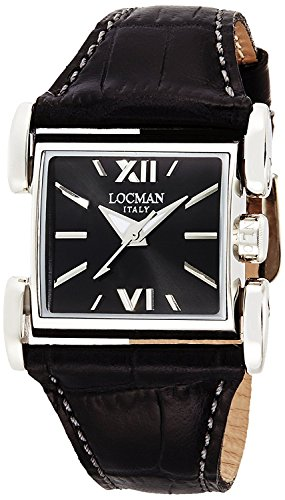 LOCMAN watch Latin rubber quartz leather belt Ladies 0506 050600BKFNK0PSK Ladies