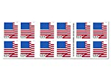 american flag sheets - U.S. Flag - 2018 USPS Forever First Class Postage Stamp U.S. Forever 50 Cents Patriotic American Flag Sheets - Booklet of 20 Stamps