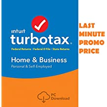 TURBOTAX HOME AND BUSINESS 2017 MAC/PC 5 Federal+Efile+State FAST D0WNL0AD (minutes)