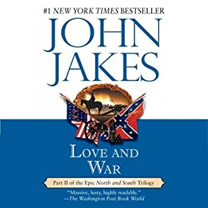 Love and War: Volume Two of the North and South Trilogy Audiobook
