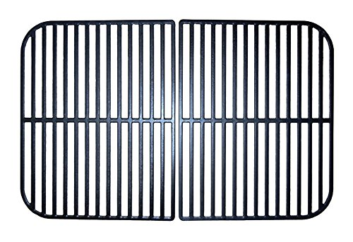 Music City Metals 67242 Matte Finished Cast Iron Cooking Grid for Select Brinkmann Brand Gas Grill-griddles
