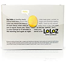 Loloz - Cavity Fighting Lemon Lozenges - 3 to 6 months of protection (20 pieces)