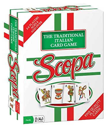 Amazon.com: Scopa Traditional Italian Card Game: Game: Toys & Games